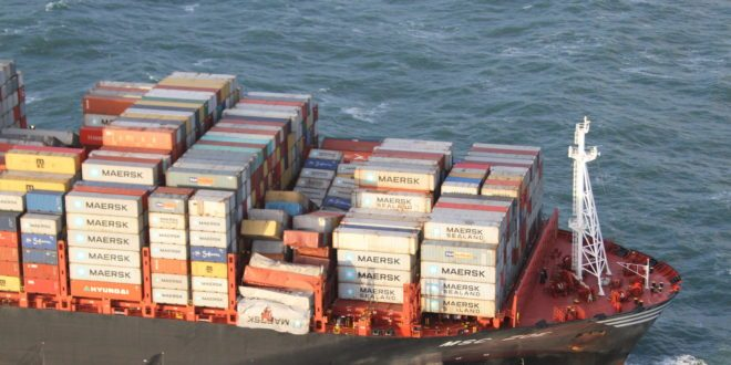 Msc Zoe Accident Cargo Situation Container News