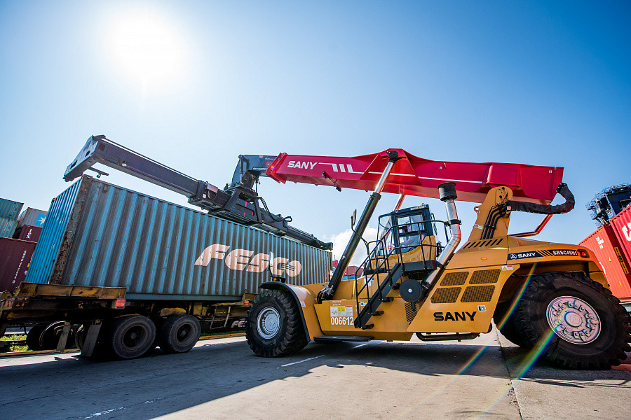 Fesco Launches New Container Train To China Container News