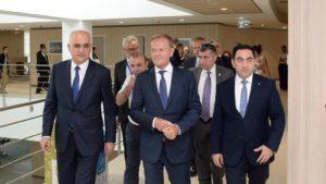 Baku Port welcomes European Council President