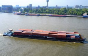 Already more than 100,000 containers shipped via Intercity Barge