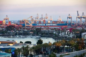 Cargo slides in July at the Port of Long Beach