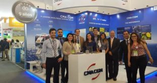 CMA CGM team at ExpoAlimentaria