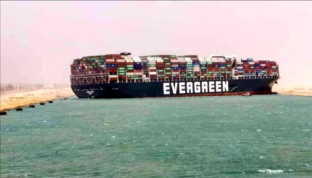 Ever Given blocks Suez Canal - Container News